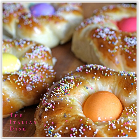 Easter Bread Recipe  The Italian Dish Posts Italian Easter Bread