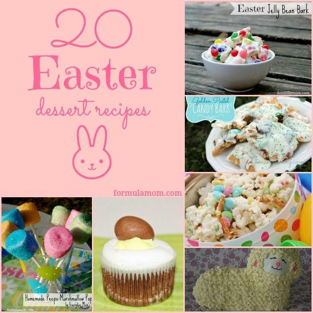 Easter Dessert Recipes  20 Easter Dessert Recipes