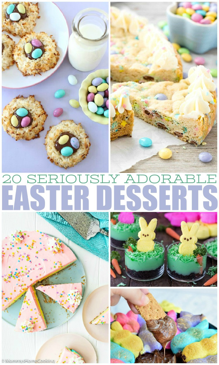 Easter Desserts 2018  20 Seriously Adorable Easter Desserts Mamanista