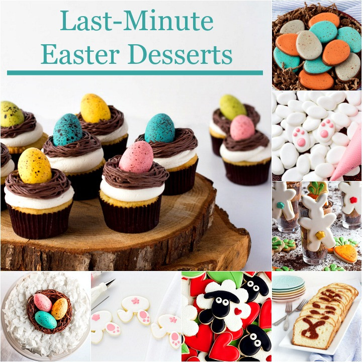 Easter Desserts 2018  Last Minute Easter Desserts Your Family will Love