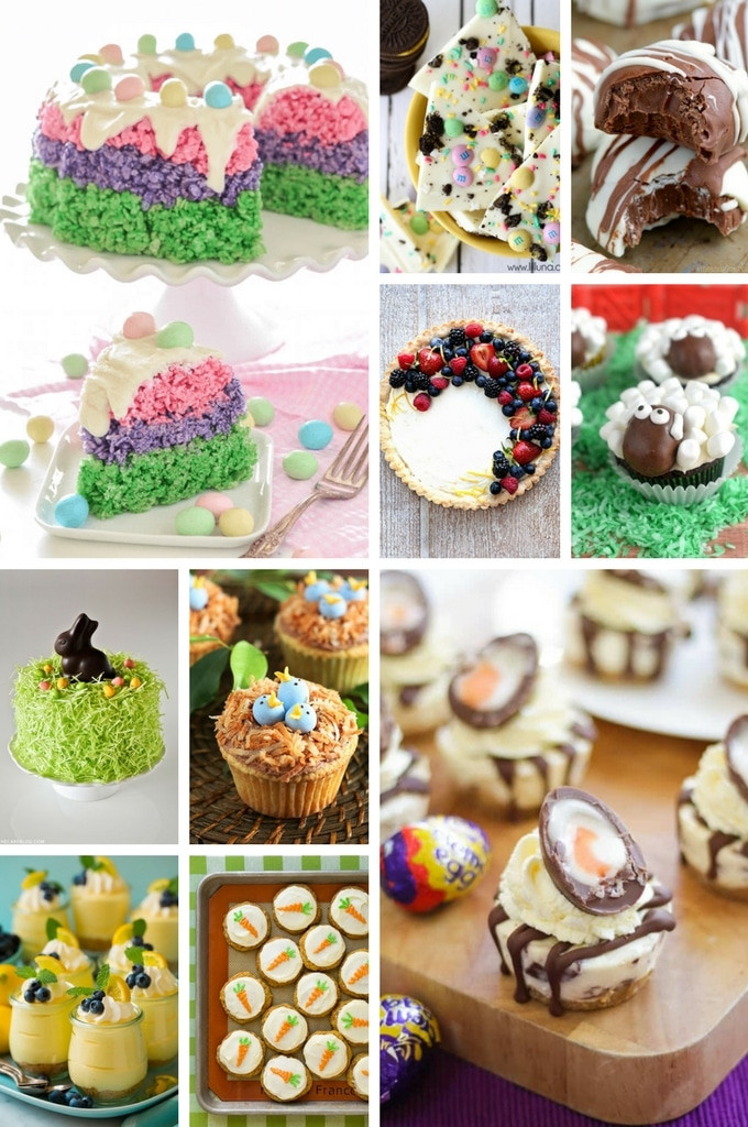 Easter Desserts 2018  50 Festive Easter Dessert Recipes Dinner at the Zoo