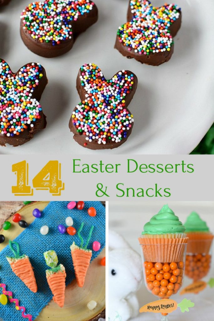 Easter Desserts 2018  Easy Easter Dessert Recipes A Turtle s Life for Me