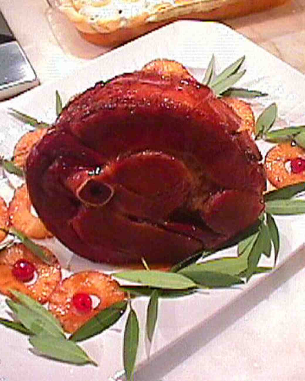 Easter Dinner Ideas Martha Stewart  Aunt Naomi s Easter Ham Recipe