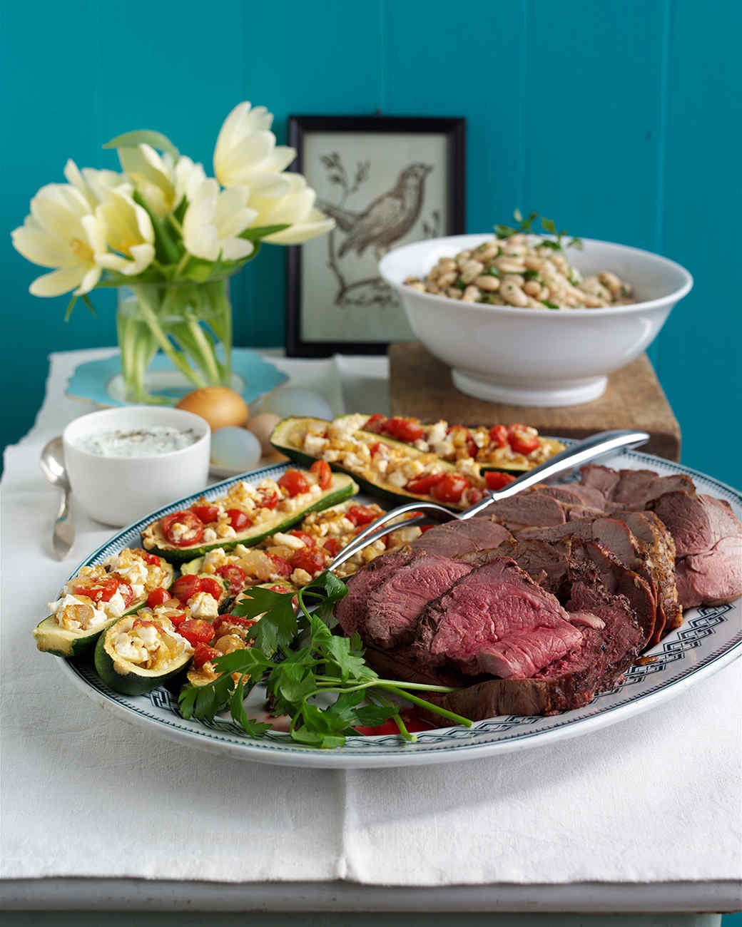 """Easter Dinner Ideas Martha Stewart  14 Easter Menus for a """"Hoppy"""" Breakfast Lunch or Dinner"""