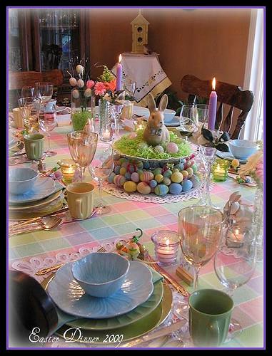 Easter Dinner Restaurants  Dining Delight Easter Fun