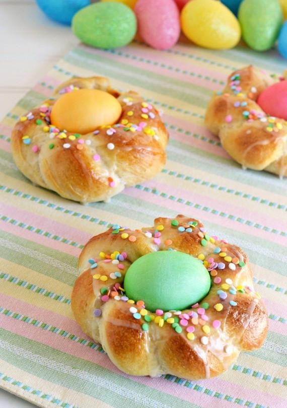 Easter Egg Bread  Easter treats for kids
