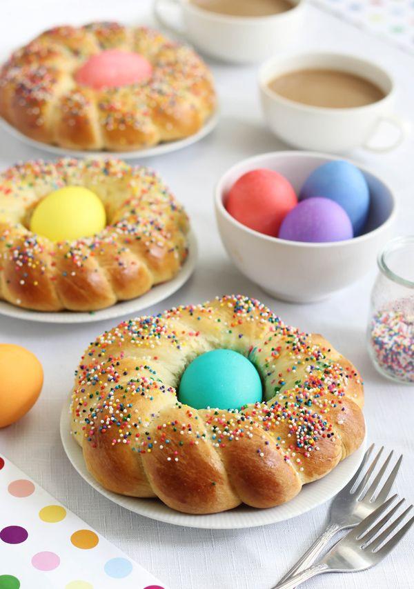 Easter Egg Bread  Italian Easter Bread