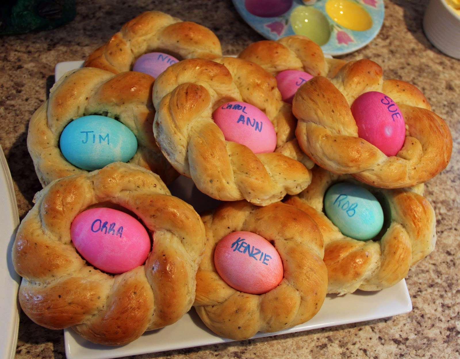 Easter Egg Bread  Jo and Sue Easter Bread Ideas 2