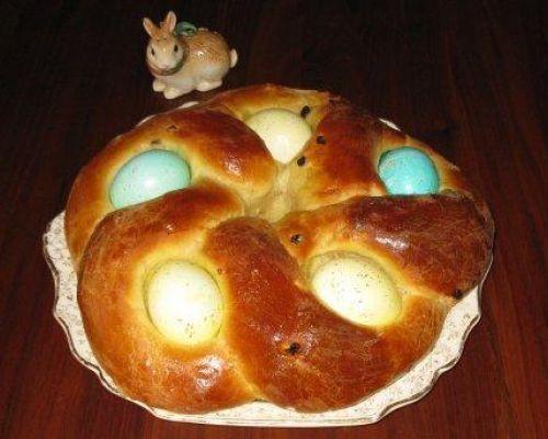 Easter Egg Bread  Nonna D Ambrosi s Easter Bread