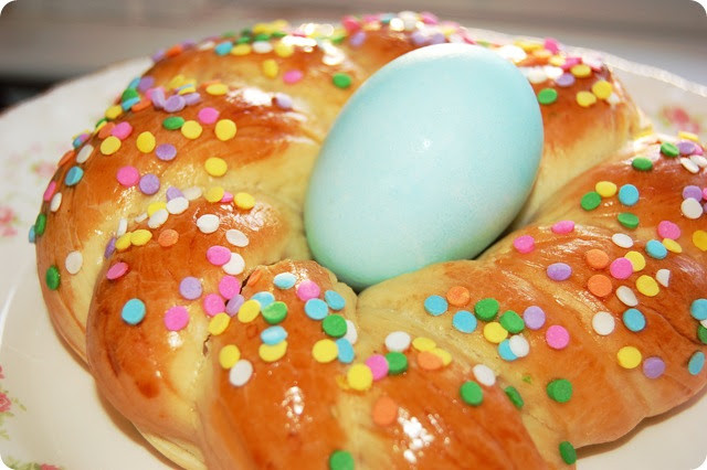 Easter Egg Bread  Marsha Mpressions Easter Bread Basket Recipe