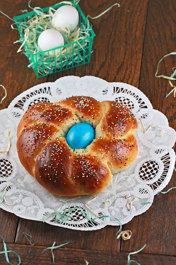 Easter Egg Bread  how to make italian easter bread