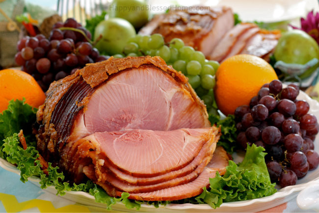 Easter Ham Dinner  10 Easter Table Tips and a Simpler Easter Meal