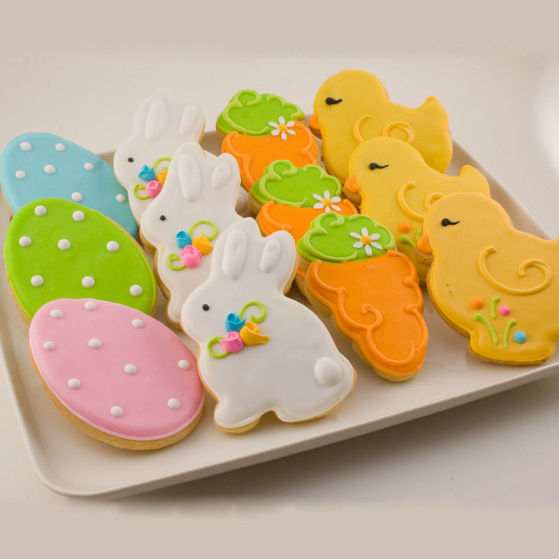 Easter Sugar Cookies  16 Tasty and Good Looking Easter Treats Style Motivation