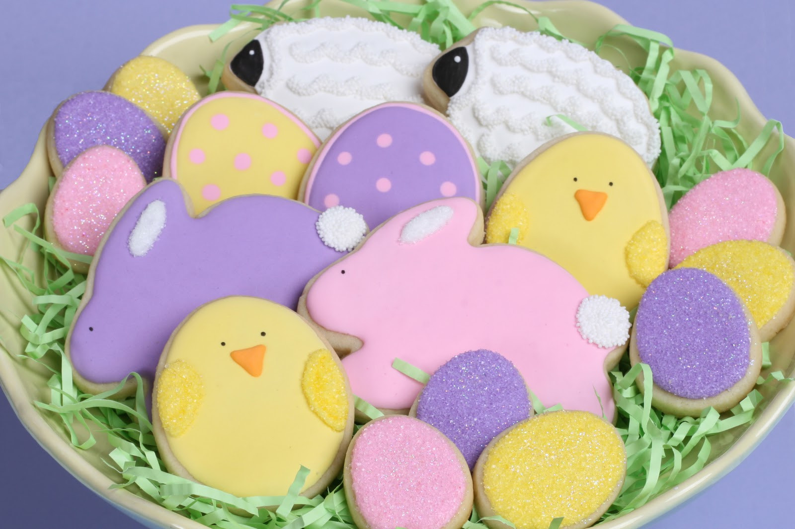 Easter Sugar Cookies  Cute Easter Cookies How to – Glorious Treats