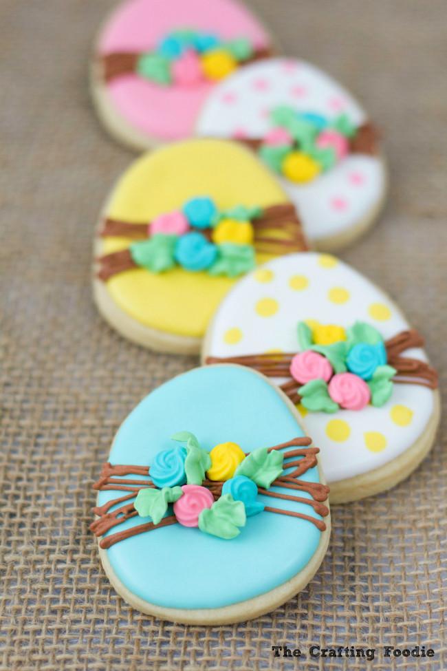 Easter Sugar Cookies  Bunny Easter Sugar Cookies