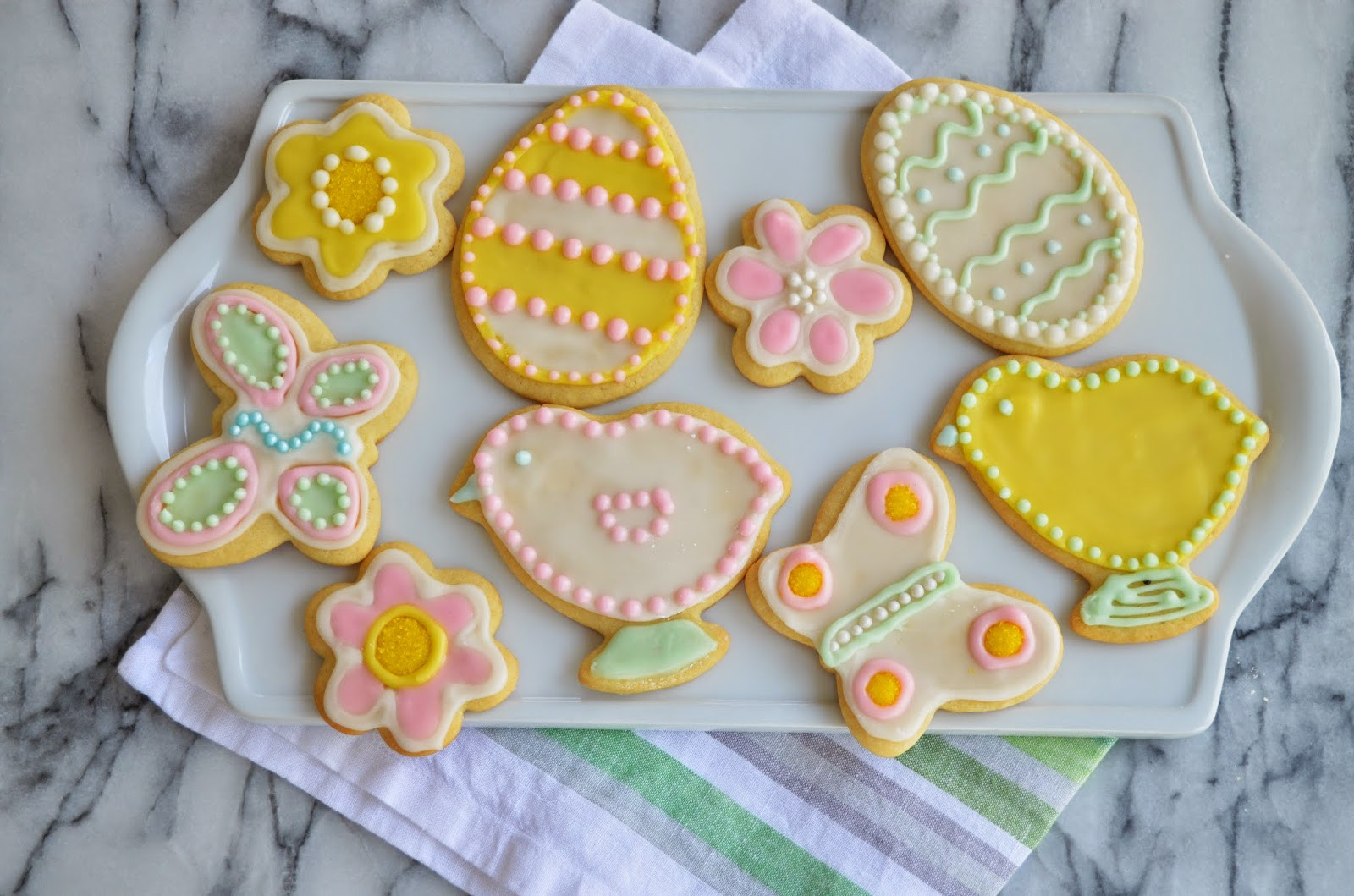 Easter Sugar Cookies  Easter Sugar Cookies
