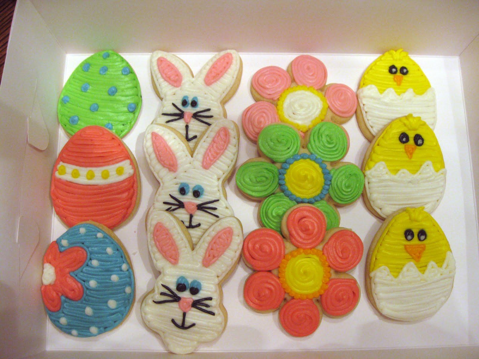 Easter Sugar Cookies  Sweet Shoppe A Few Weekend Projects