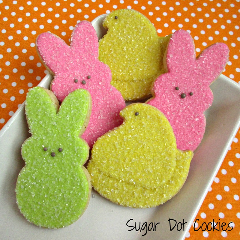 Easter Sugar Cookies  Easter Cookies Sugar Dot Cookies Handmade