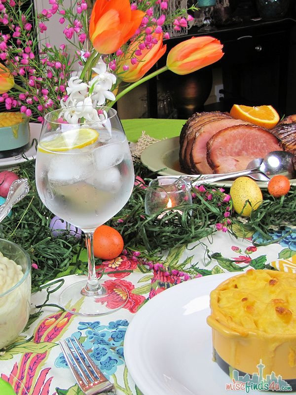 Easter Sunday Dinner  HoneyBaked Ham Holiday Dinner Without the Hassle