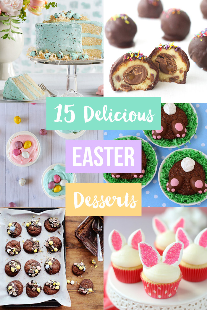 Easter Themed Desserts  15 Delicious Easter Dessert Recipes Love Swah