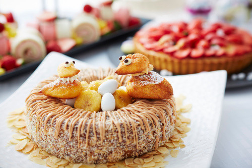 Easter Themed Desserts  Keio Plaza Hotel Tokyo Strawberry Dessert Buffet Japan
