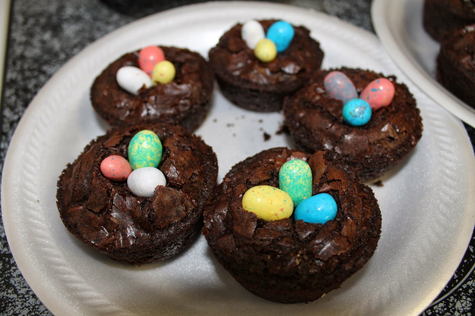 Easter Themed Desserts  Let It Be Glory Brownie Bird Nests Super Duper Easy