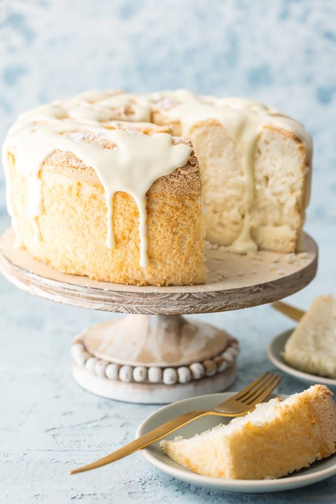Easy Angel Food Cake Recipe  Easy Angel Food Cake Recipe How to Make Angel Food Cake