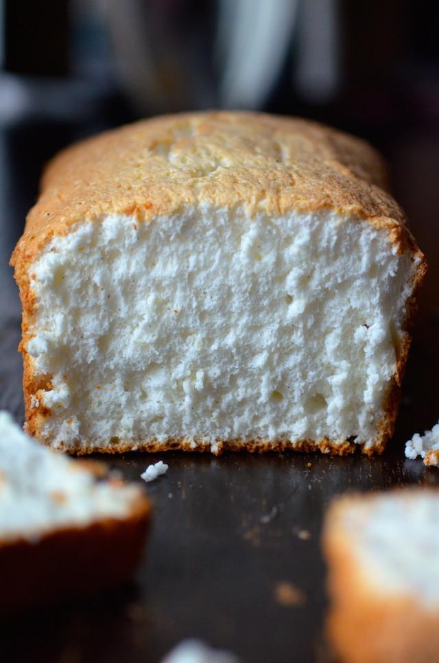 Easy Angel Food Cake Recipe  Easy Vanilla Bean Orange Angel Food Cake Always Order