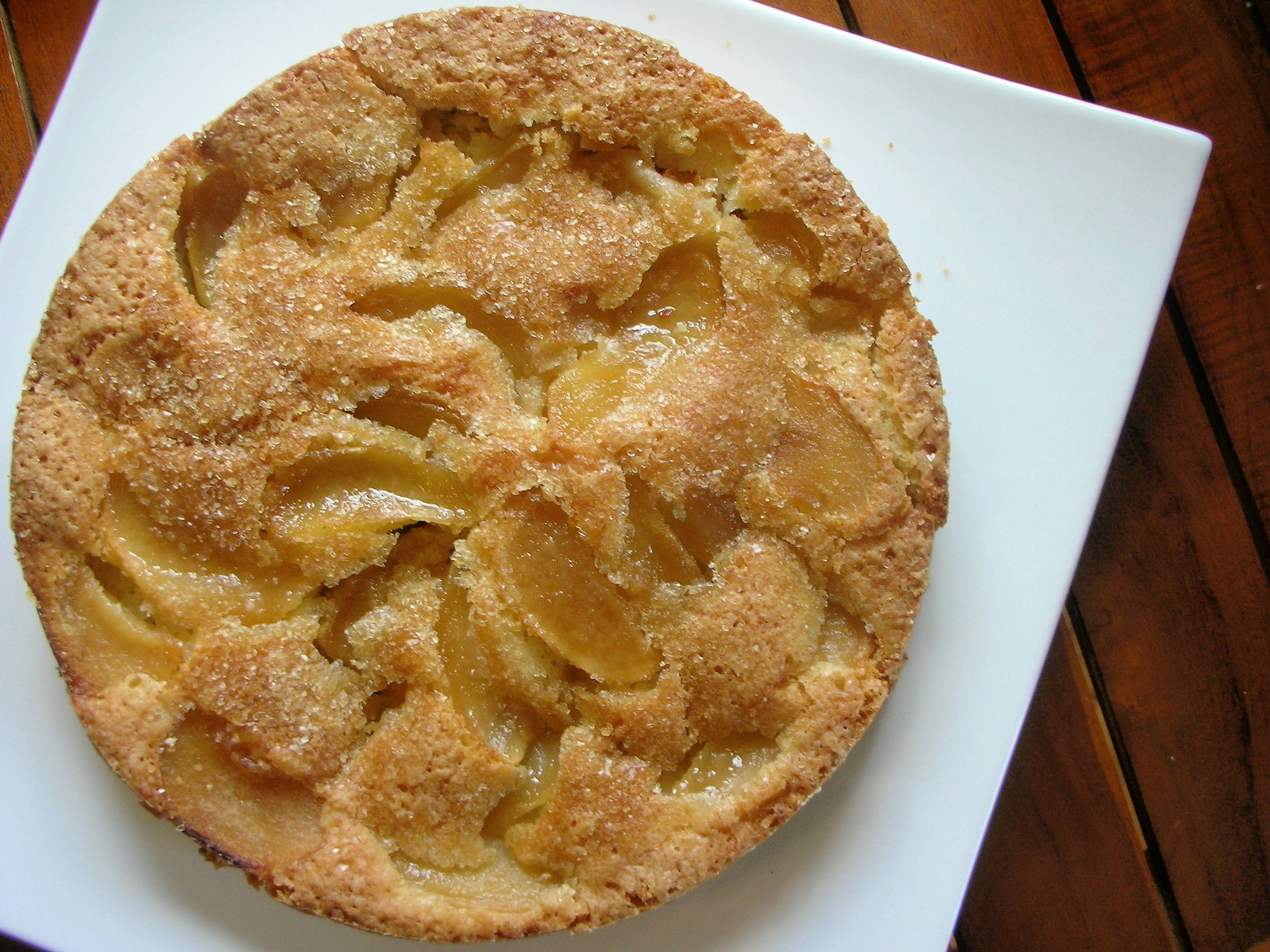 Easy Apple Cake Recipe  easy does it