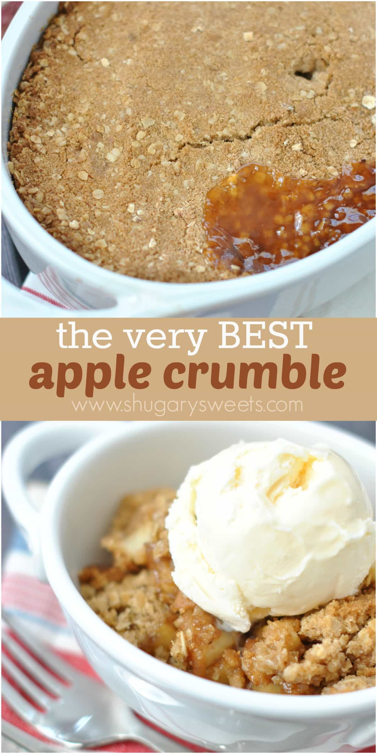 Easy Apple Dessert  Apple Crumble Shugary Sweets