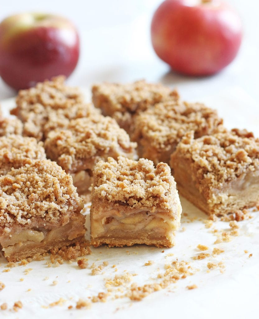 Easy Apple Dessert  Easy Apple Crisp Bars If You Give a Blonde a Kitchen