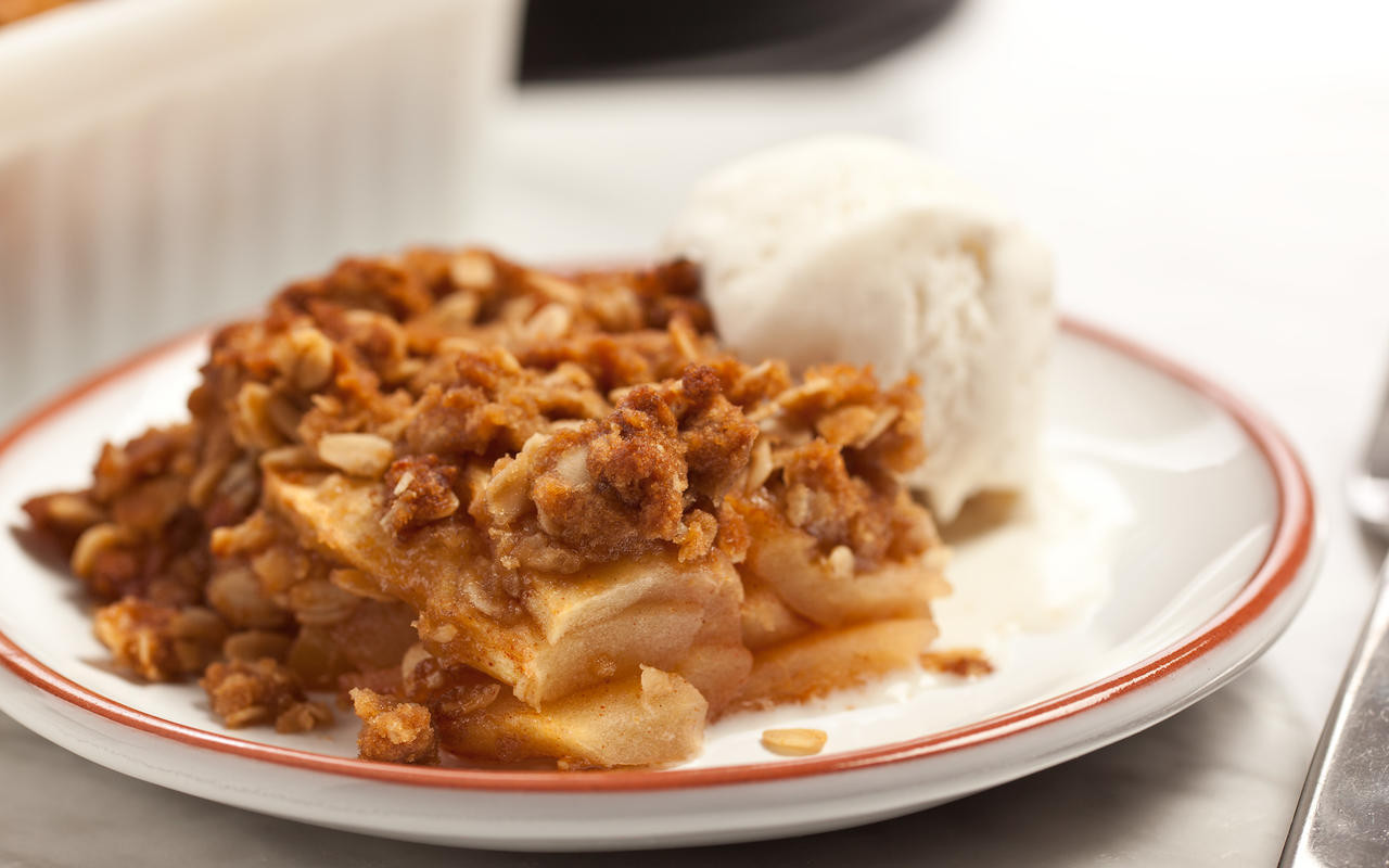 Easy Apple Dessert  Easy Apple Crisp Recipe Chowhound