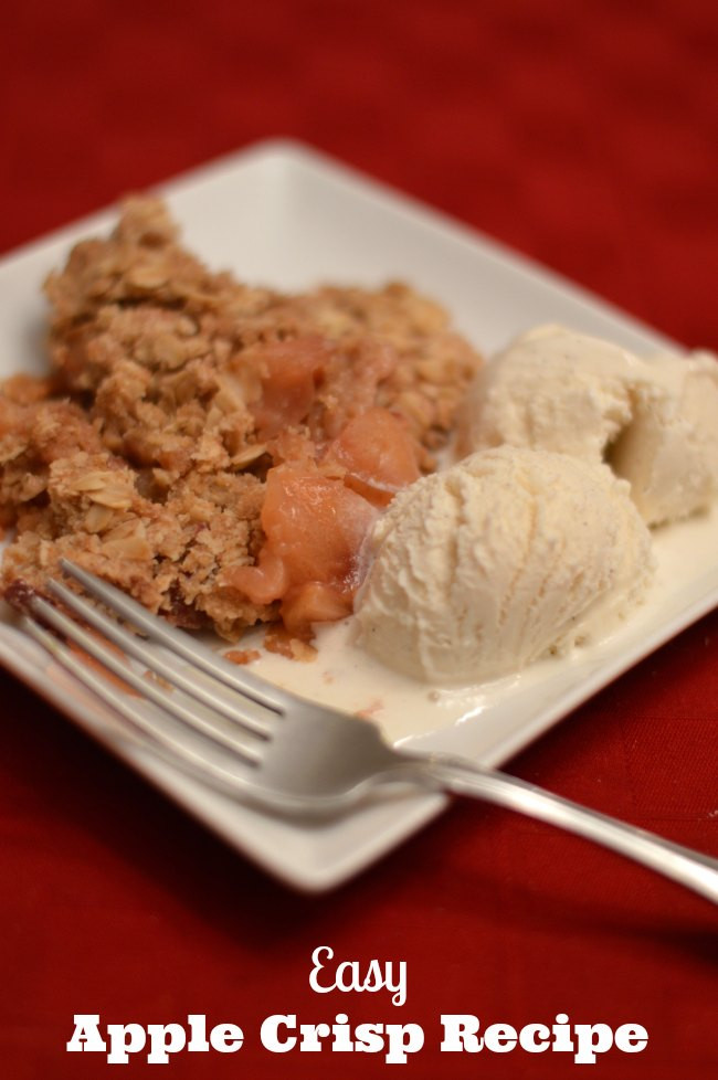 Easy Apple Dessert Recipes With Fresh Apples  Easy and Delicious Apple Crisp Recipe With Fresh Apples