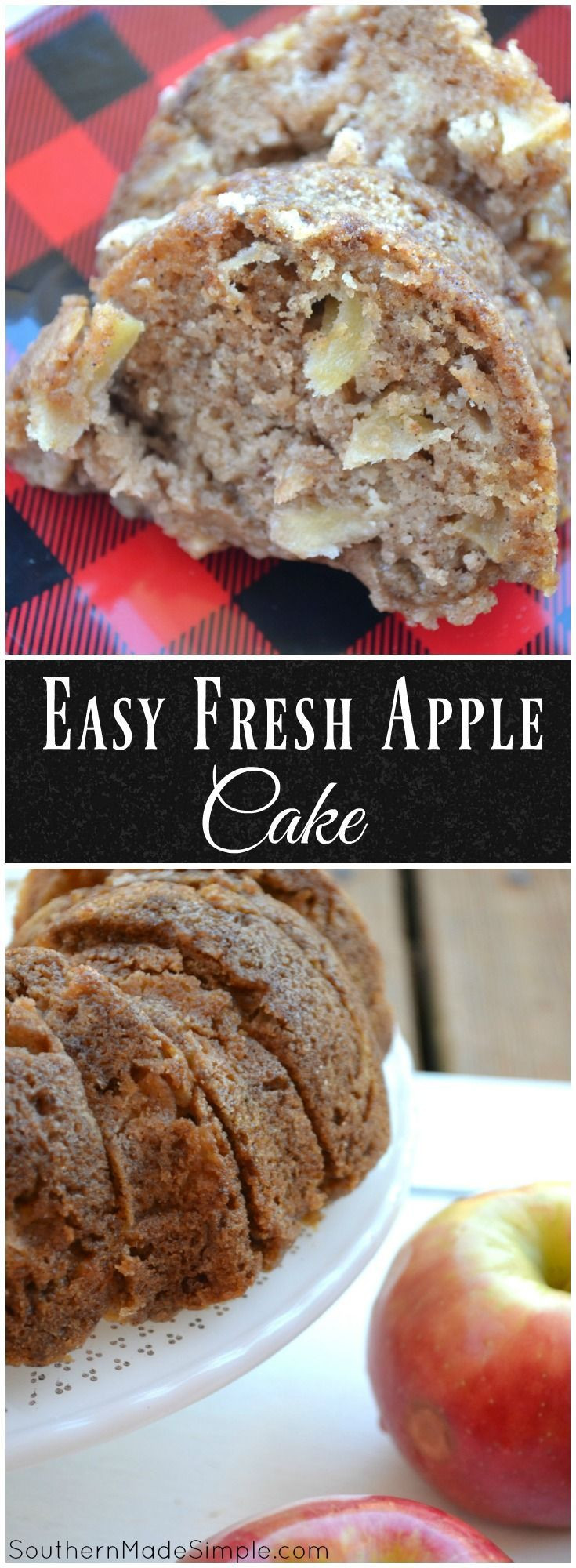 Easy Apple Dessert Recipes With Fresh Apples  17 Best ideas about Easy Apple Cake on Pinterest