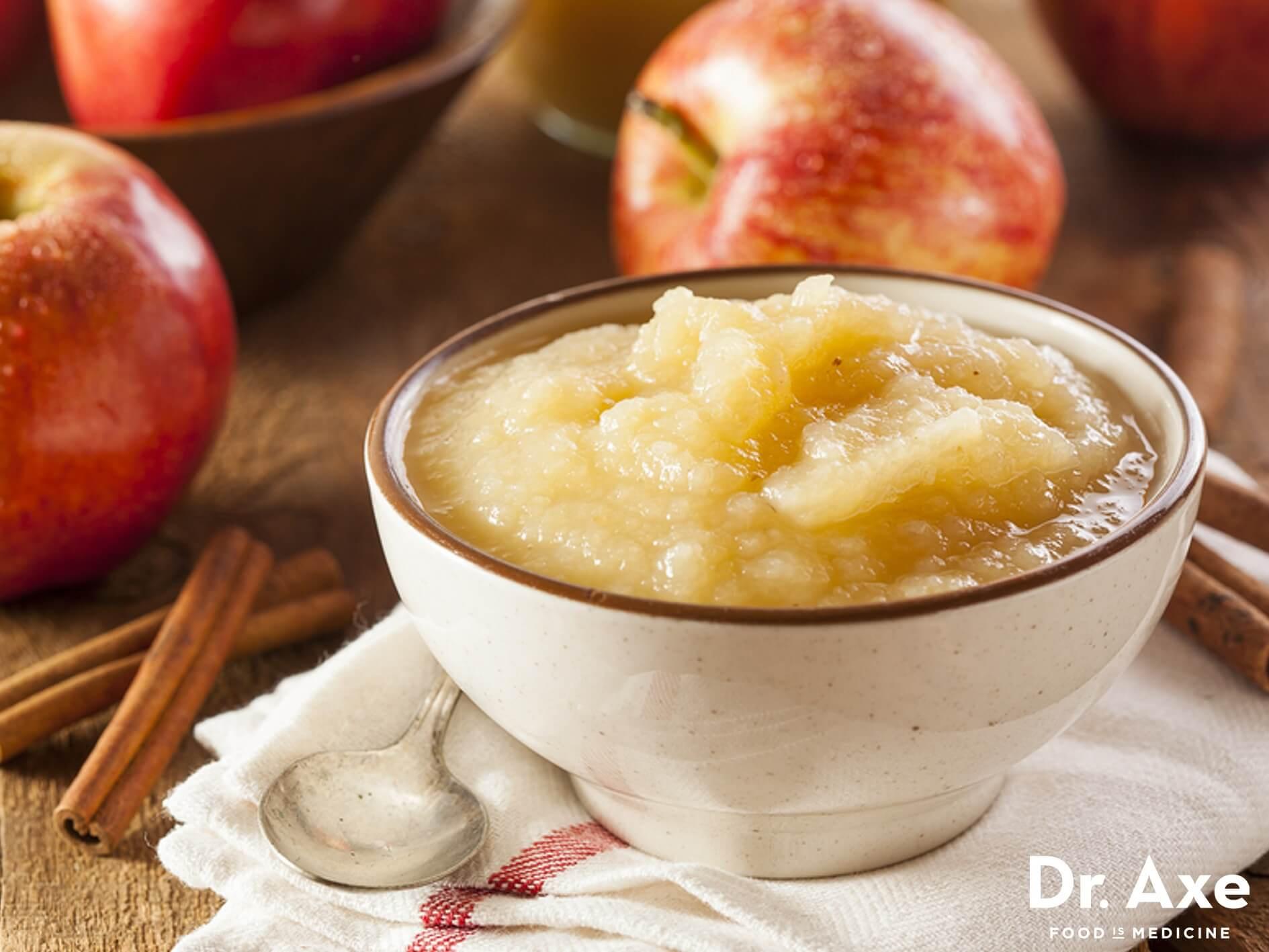 Easy Applesauce Recipe  Crockpot Cinnamon Applesauce Recipe DrAxe
