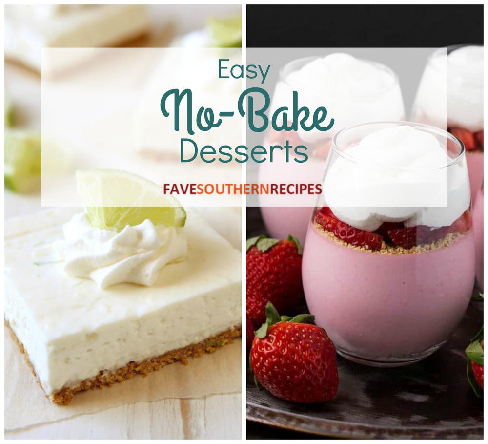 Easy Bake Desserts  No Bake Dessert 13 Easy No Bake Recipes