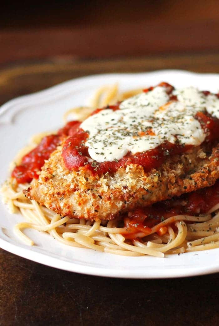 Easy Baked Chicken Parmesan  Oven Baked Chicken Parmesan Smile Sandwich