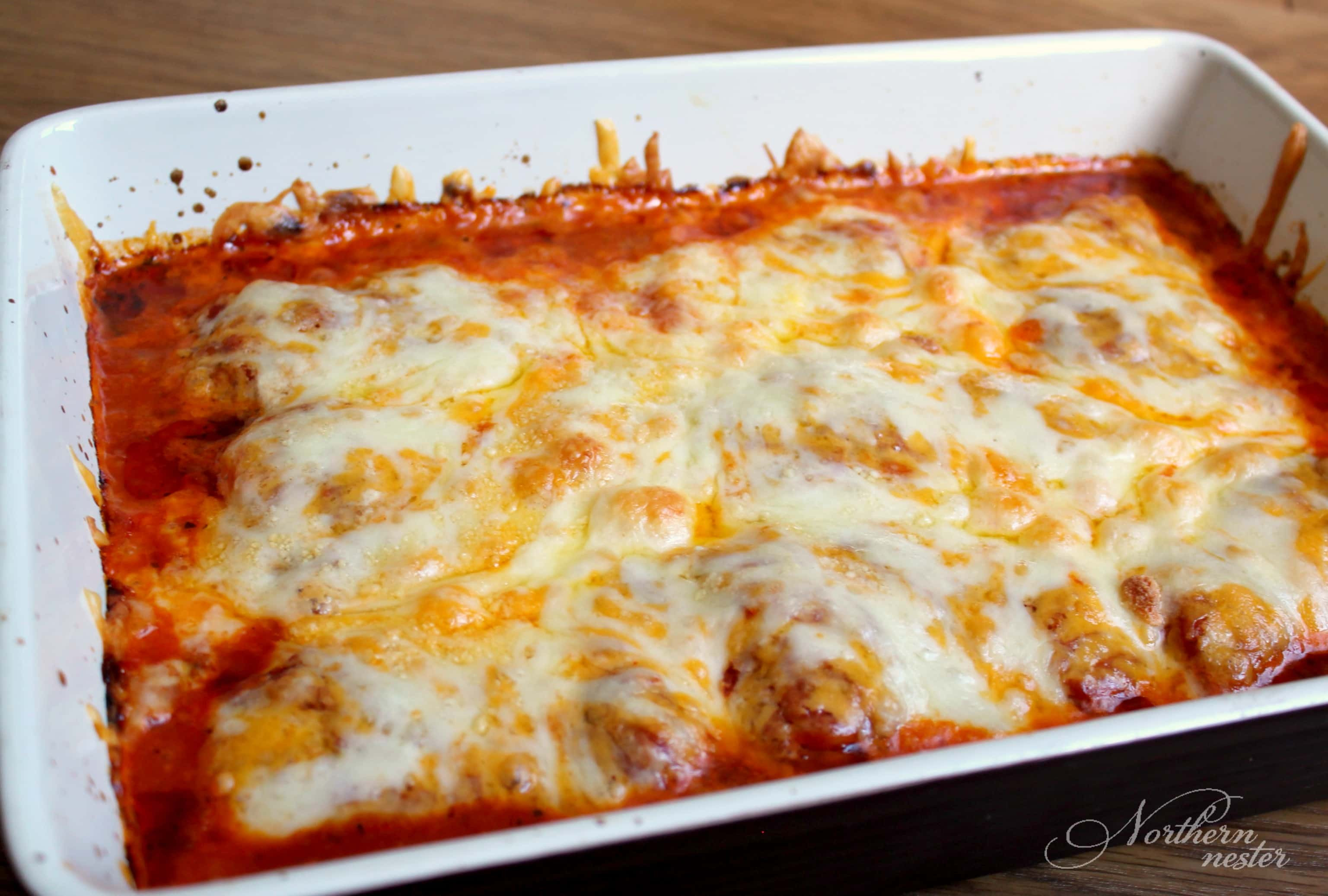 Easy Baked Chicken Parmesan  5 Ingre nt Chicken Parmesan Northern Nester