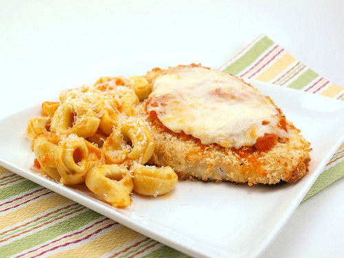 Easy Baked Chicken Parmesan  Easy Baked Chicken Parmesan Evil Shenanigans
