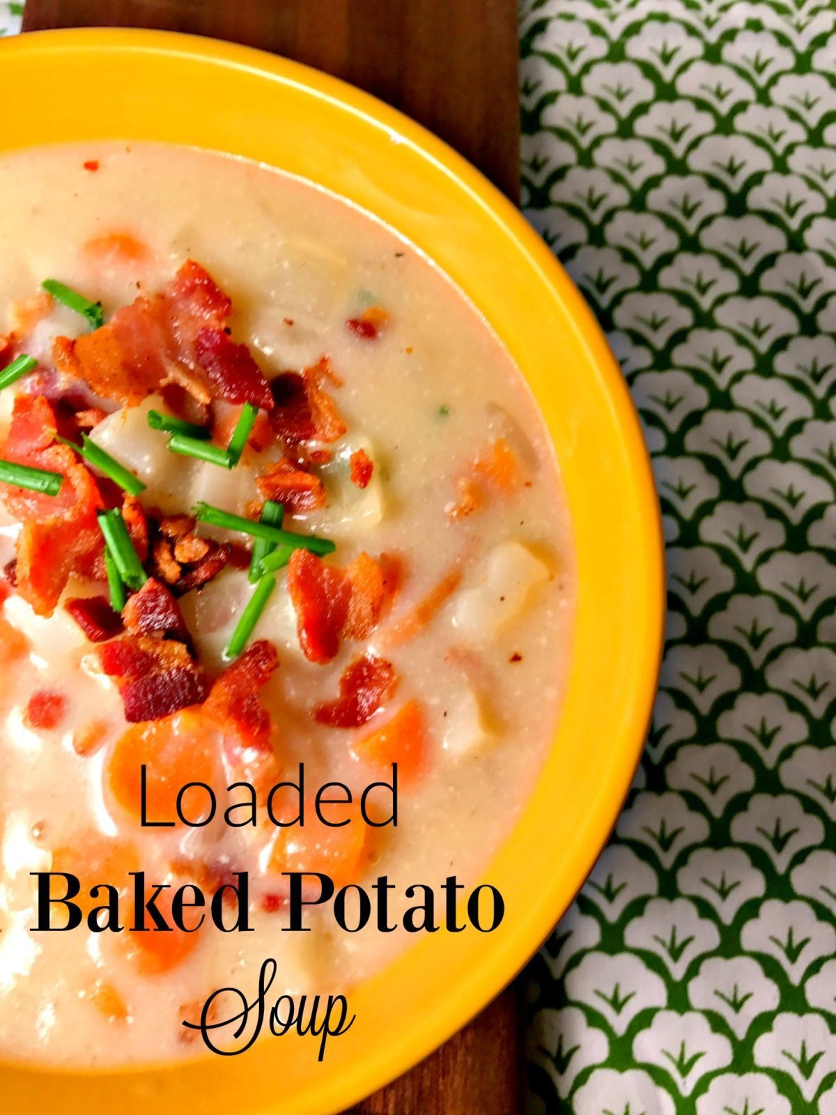 Easy Baked Potato Soup  Easy Loaded Baked Potato Soup Lou Lou Girls