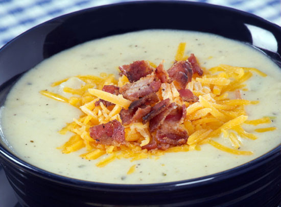 Easy Baked Potato Soup  Baked Potato Soup Recipe