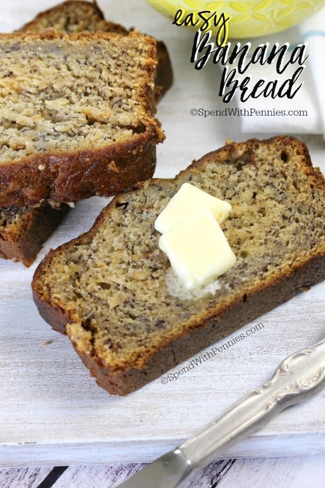 Easy Banana Bread Recipes  Easy Banana Bread Recipe Spend With Pennies