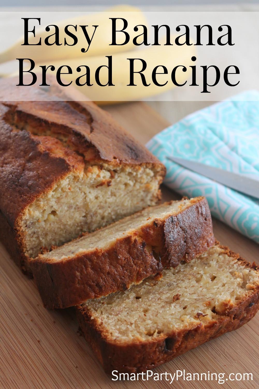 Easy Banana Bread Recipes  Easy Banana Bread Recipe