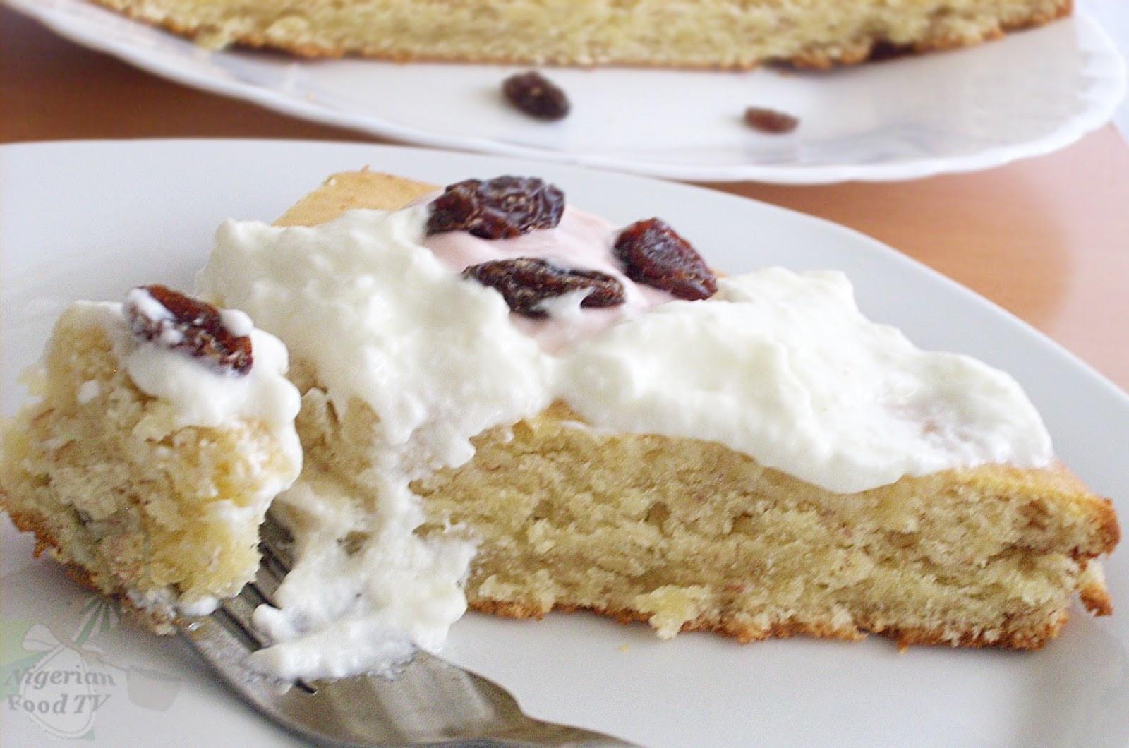 Easy Banana Cake  Easy Banana Cake Recipe