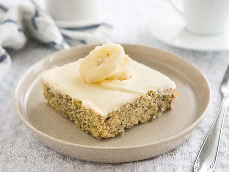 Easy Banana Cake  Easy Banana Cake Recipe with Mascarpone Frosting 30 minutes
