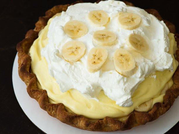Easy Banana Cream Pie Recipe  Banana Cream Pie Recipe