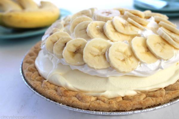 Easy Banana Cream Pie Recipe  Easy Banana Cream Pie CincyShopper