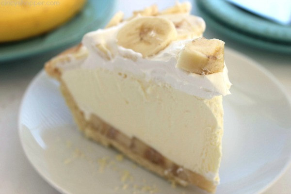 Easy Banana Cream Pie  Easy Banana Cream Pie CincyShopper