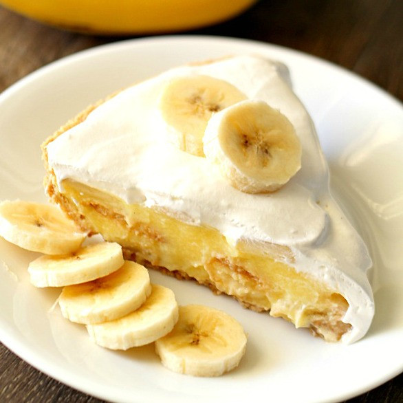 Easy Banana Cream Pie  Easy Banana Cream Pie