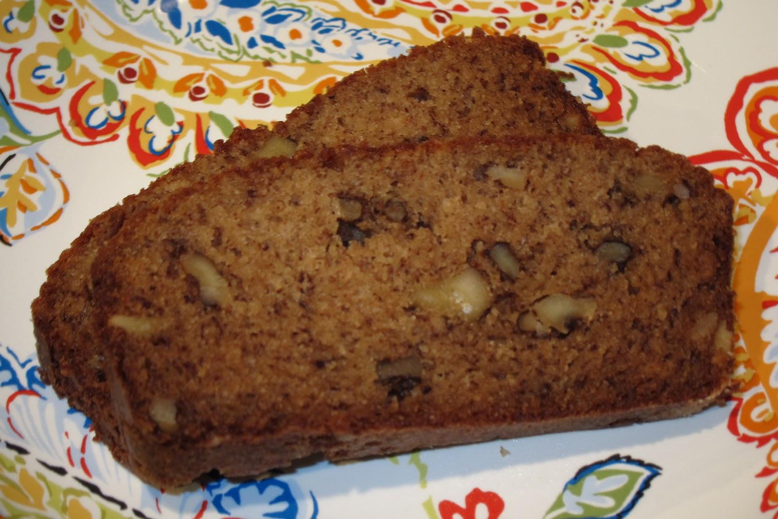 Easy Banana Nut Bread Recipe  Inspired Whims Easy Banana Nut Bread